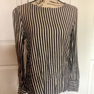 Medium striped blouse from Express